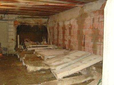 10 demolizione pareti interne dei tini