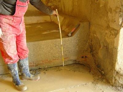 14 basamento del tino in cemento armato