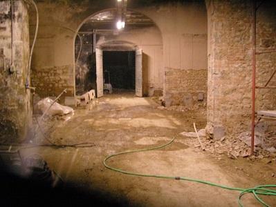 20 demolizione totale tini in cemento armato