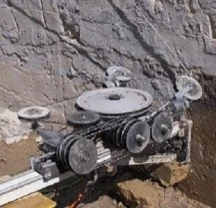2 macchina a filo per il taglio del cemento
