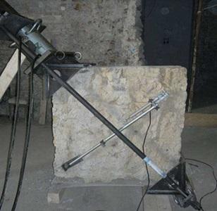 4 blocco di muratura per prova di compressione diagonale