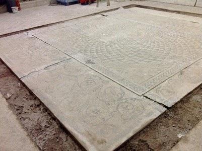 5 Mosaico sezionato per il taglio a filo diamantato