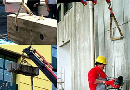 Sistemi di aggancio dei blocchi tagliati 400 x 300