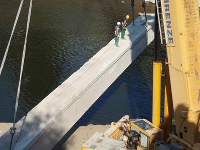 24 demolizione trave del ponte