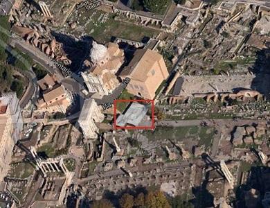 1 vista aerea del foro romano