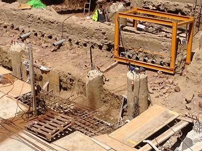 10 sezionamento verticale del reperto archeologico