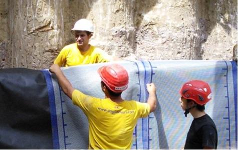 14 protezione del muro romano