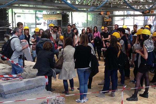 Visita studenti al cantiere 600 x 400
